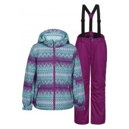 ICEPEAK Warm costume for girls (autumn / winter) HADIA JR 740